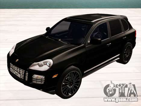 Porsche Cayenne Turbo S 2010 Stock for GTA San Andreas right view