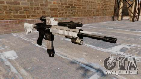 Automatic rifle Colt M4A1 for GTA 4
