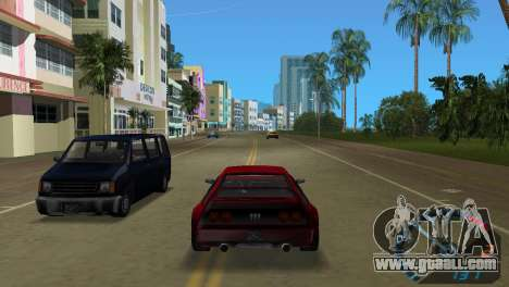 The speedometer from NFS Underground for GTA Vice City