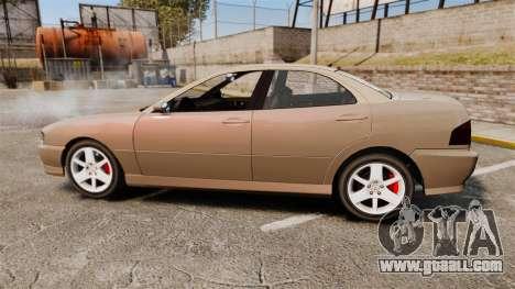 Dinka Chavos new wheels for GTA 4 left view