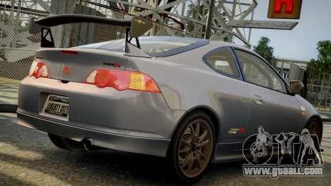 Honda Mugen Integra Type-R 2002 for GTA 4 left view
