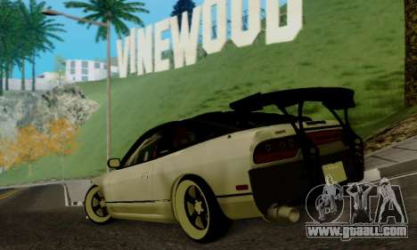 Nissan SX 240 for GTA San Andreas left view