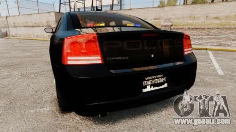Dodge Charger Slicktop Police [ELS] for GTA 4 back left view