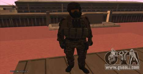 Global Defense Initiative Soldier for GTA San Andreas forth screenshot