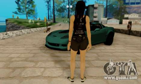 Kokoro A7X for GTA San Andreas fifth screenshot