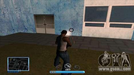 C-HUD by Andr1k for GTA San Andreas forth screenshot
