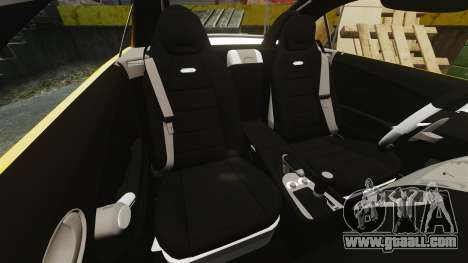 Mercedes-Benz SLK 55 AMG 2014 v1.4 for GTA 4 side view