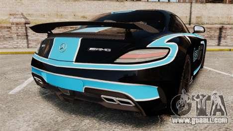 Mercedes-Benz SLS 2014 AMG Black Series Area 27 for GTA 4 back left view