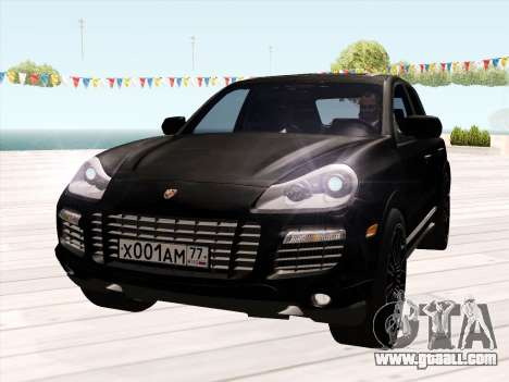Porsche Cayenne Turbo S 2010 Stock for GTA San Andreas back left view