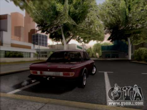 BMW 3.0 CSL 1971 for GTA San Andreas left view