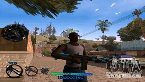 C-HUD Slow for GTA San Andreas