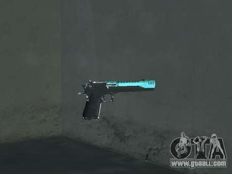 A New Pack Of Weapons for GTA San Andreas