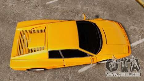 Ferrari Testarossa 512 TR v2.0 for GTA 4 right view