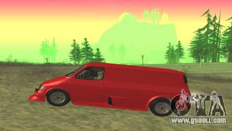 Ford Transit Supervan 3 Custom for GTA San Andreas left view