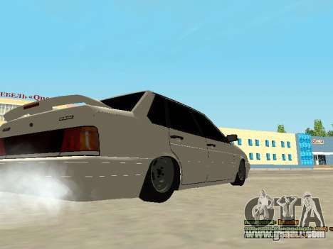VAZ 2115 for GTA San Andreas right view