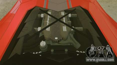 Lamborghini Aventador LP700-4 2012 [EPM] for GTA 4 inner view