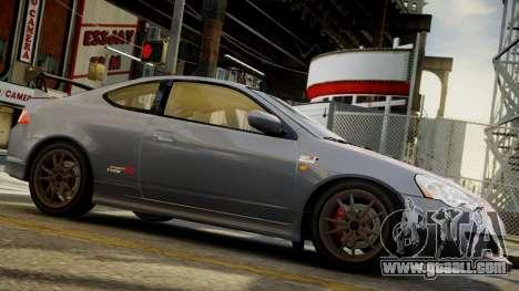Honda Mugen Integra Type-R 2002 for GTA 4 back left view