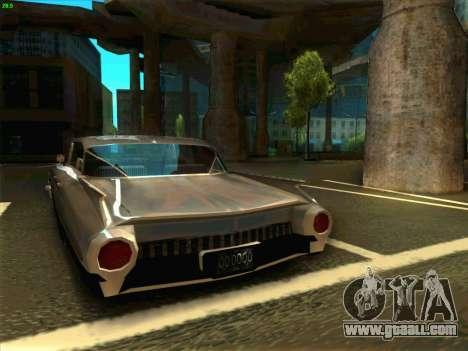 Cadillac Stella 1959 for GTA San Andreas back left view