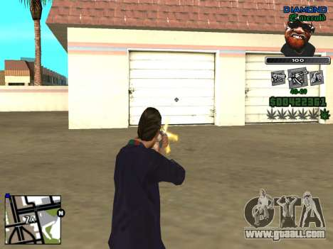 C-HUD by Misterio for GTA San Andreas