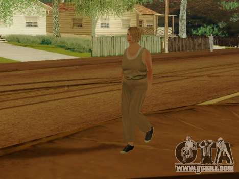 Elderly woman for GTA San Andreas fifth screenshot