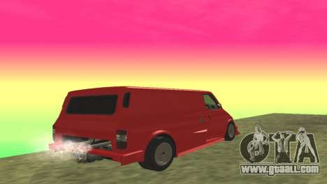 Ford Transit Supervan 3 Custom for GTA San Andreas right view