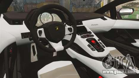 Lamborghini Aventador LP700-4 2012 [EPM] NFS for GTA 4 inner view