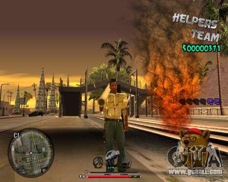 C-HUD Bear for GTA San Andreas forth screenshot