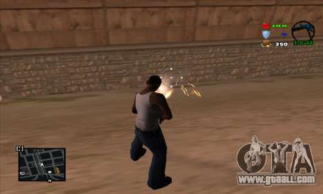 C-HUD Lite for GTA San Andreas third screenshot