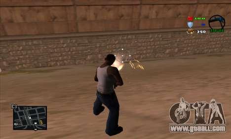 C-HUD Lite for GTA San Andreas third screenshot