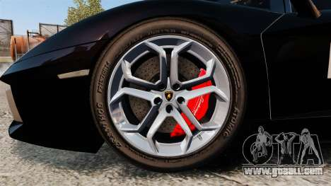 Lamborghini Aventador LP700-4 2012 [EPM] GoPro for GTA 4 back view