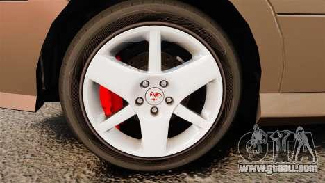 Dinka Chavos new wheels for GTA 4 back view