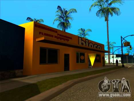 The new texture store Binco in LS for GTA San Andreas forth screenshot