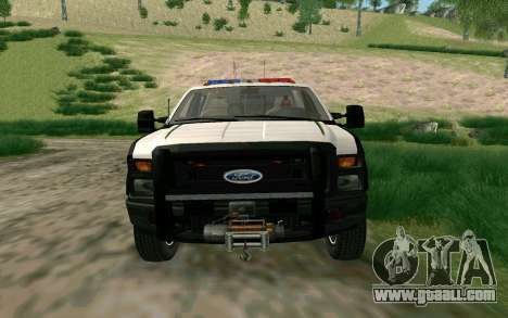 Ford F-250 Bone County Ultimate Response for GTA San Andreas left view