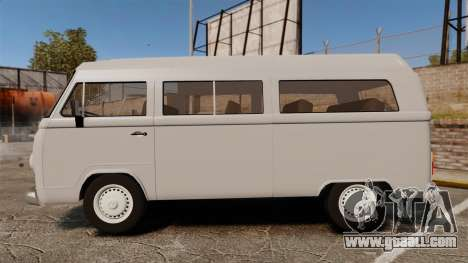 Volkswagen Kombi 1999 for GTA 4 left view