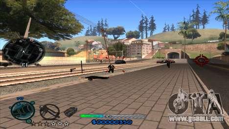 C-HUD Slow for GTA San Andreas fifth screenshot
