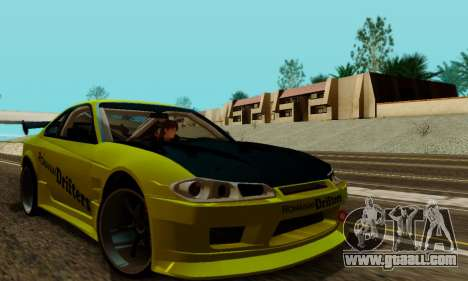 Nissan Silvia S15 Romanian Drifters for GTA San Andreas inner view
