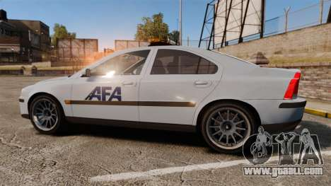 Volvo S60 AFA [ELS] for GTA 4 left view