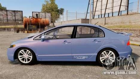 Honda Civic Si 2008 for GTA 4 left view