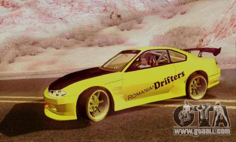 Nissan Silvia S15 Romanian Drifters for GTA San Andreas right view