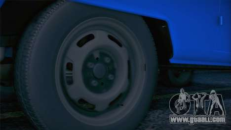 Volkswagen T1 Milicija for GTA San Andreas right view