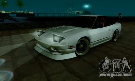 Nissan SX 240 for GTA San Andreas inner view