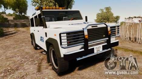 Land Rover Defender AFA [ELS] for GTA 4