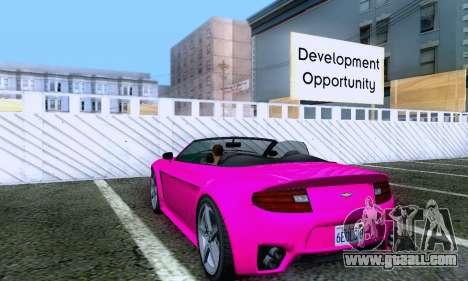 GTA V Rapid GT Cabrio for GTA San Andreas right view