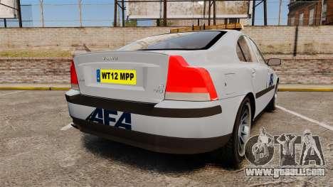 Volvo S60 AFA [ELS] for GTA 4 back left view