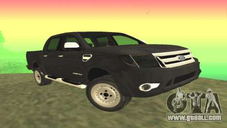 Ford Ranger Limited 2014 for GTA San Andreas