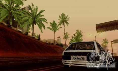 VAZ 2108 RDA for GTA San Andreas side view