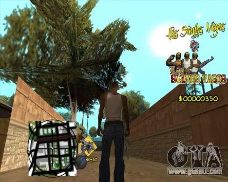 C-HUD LSVG for GTA San Andreas third screenshot