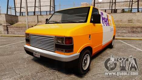 Brute Pony FedEx Express for GTA 4