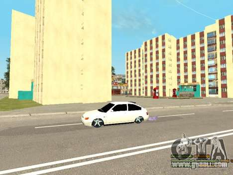 VAZ 21123 for GTA San Andreas side view