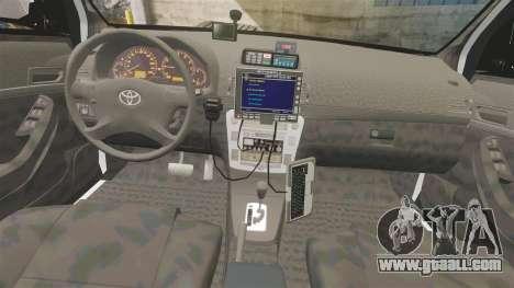 Toyota Hilux Police Western Australia for GTA 4 back view